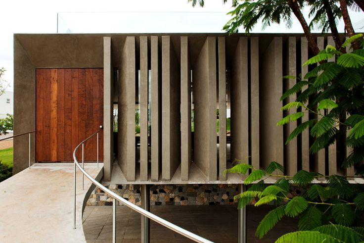 Piracicaba house by Isay Weinfeld, in Piracicaba, Brazil.