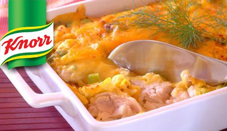 KNORR: Baked Fish with a Creamy Cheese Sauce