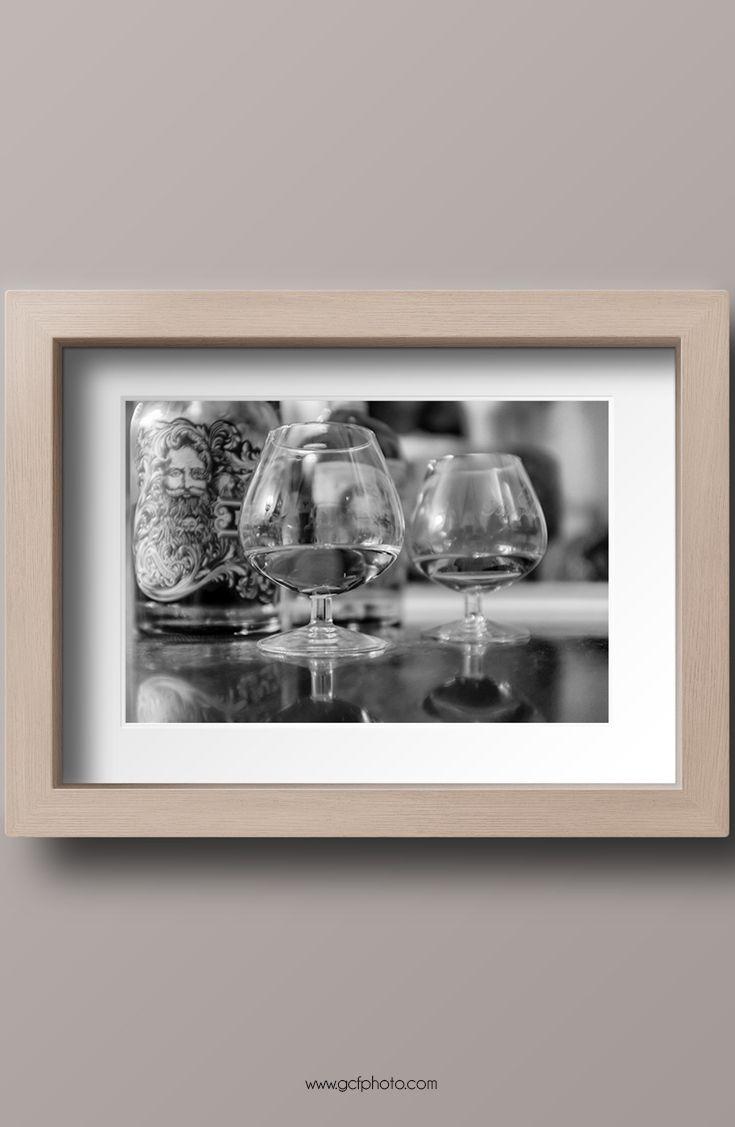 Dining room decor idea - art prints for home decor. Click on the image for more details. #diningroomwalldecor #diningroomwalldecorideas #diningroomwalldecoration #brandyglasses #blackandwhiteart #blackandwhiteartwork