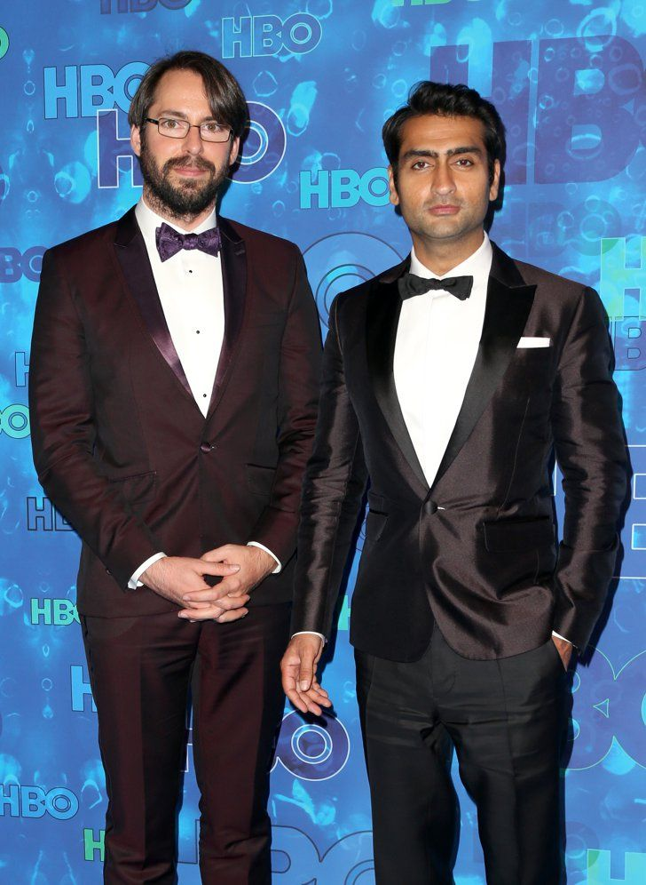 See How Your Favorite Stars Celebrated at the Emmys Afterparties!  Pictured: Martin Starr and Kumail Nanjiani