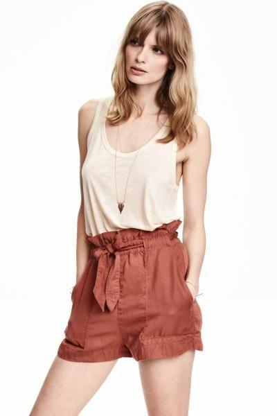 Shorts in misto lino | H&M