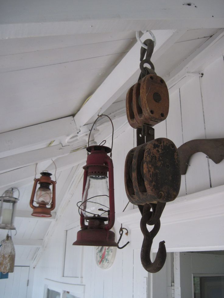 Lanterns, Toabh Na Mara Cottage, Pugwash, Nova Scotia, Canada.  Photo Cynthia Bennett.