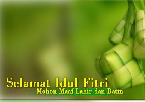 30 Desain kartu ucapan Selamat Lebaran & Idul Fitri