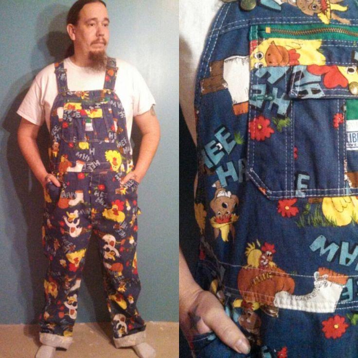 Rare Hee Haw Overalls Hee Haw Bibs Liberty Overalls