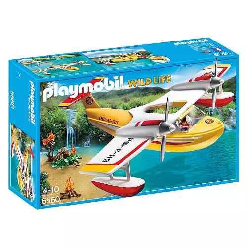Playmobil 5560 Hidroavión Contra Incendios - $ 1.999,99