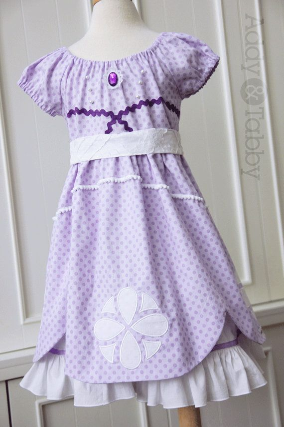 Everyday Princess Sofia the First dress, dress-up, costume