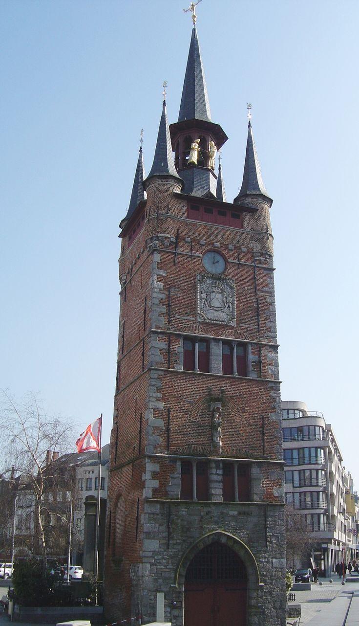 Belfry Tower, Kortrijk, Flanders Region, Belgium