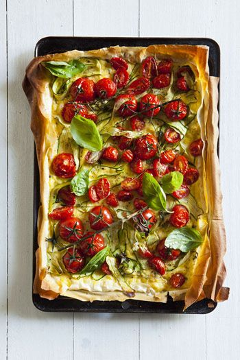 Recipe of the Week: Mediterranean Tomato & Courgette Tart | Safari Interactive Magazine Blog.