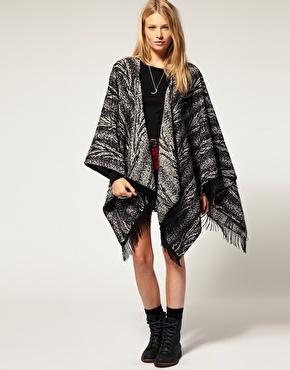 Ponchos and wraps = love