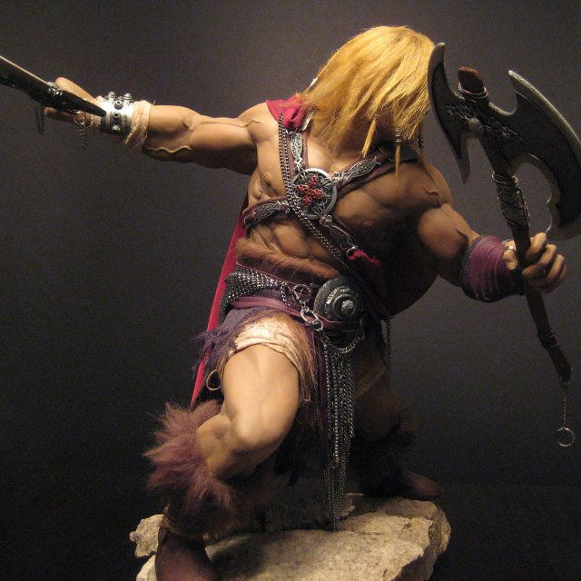 Really cool He-Man statue that actually makes him look like he could kick some ass.