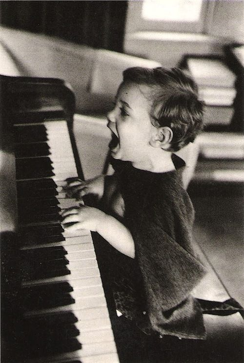 The Joy of Music, N.Y.C., 1960: Kids Plays, Kids Pics, The Piano, Joy, Jacques Low, Black White, Photo, Piano Lessons, Little Boys