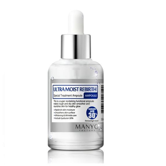 Manyo Factory Ultra Moist Rebirth Ampoule (50ml) Pure Natural #ManyoFactory