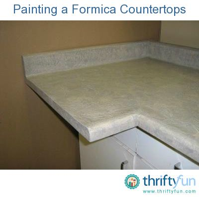 This is a guide about painting a Formica countertop. Painting your old, outdated Formica countertops is a great way to update your kitchen.