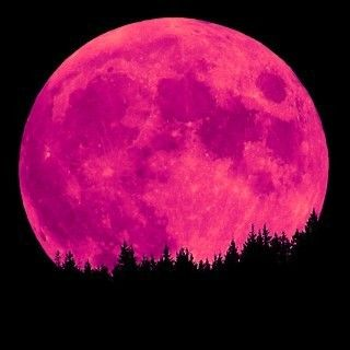 Beautiful.... pretty in pink moon!!! Bebe'!!! Passionate pink moon....can think of a few pink things to do under this prettiest pink moon ever!!!