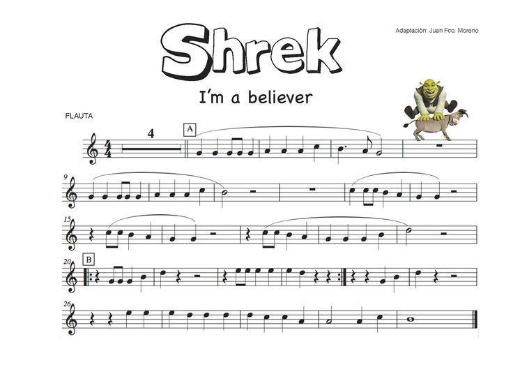 """Y tu..¿Crees en el amor??? si, claro que siiii... Los alumnos de 1º de ESO están entusiasmados con este tema de la película """"Shrek"""". Vamos a utilizar este estupendo wix con la partitura y el play-b..."""