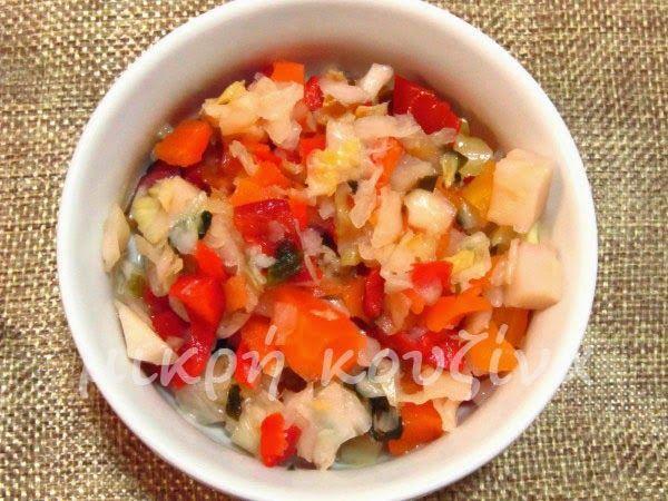 μικρή κουζίνα: Πολίτικη σαλάτα