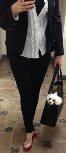 What Is The Well Dressed Law Office Manager Or Paralegal Wearing At Davis Group