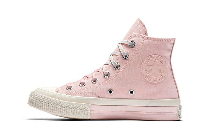 f0c0ab18dfe9 Converse Chuck Taylor All Star 70 Super Color Block High Top Pink ...