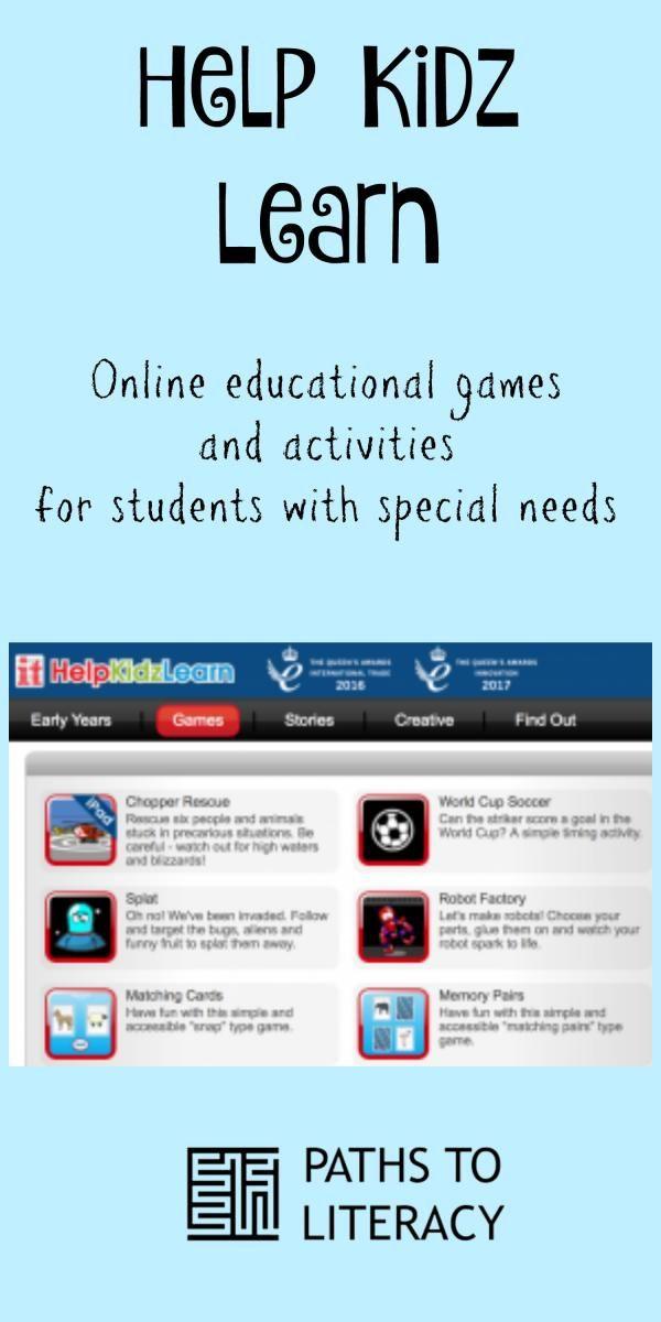 Help Kidz Learn Educational Games Educational Games Online