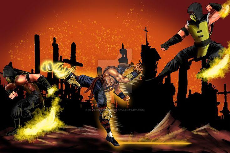 Scorpion vs jago finished by ShelvsHotpencil