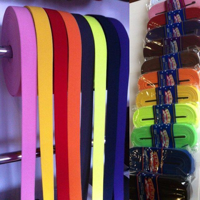 1 cm den 10 cmye kadar her renkten dar dokuma lastik çeşitlerimiz mevcuttur