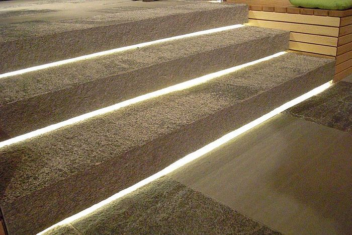 really nice for outside stairs lighting Pinterest Stair