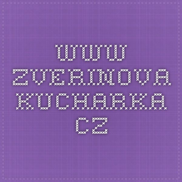 www.zverinova-kucharka.cz
