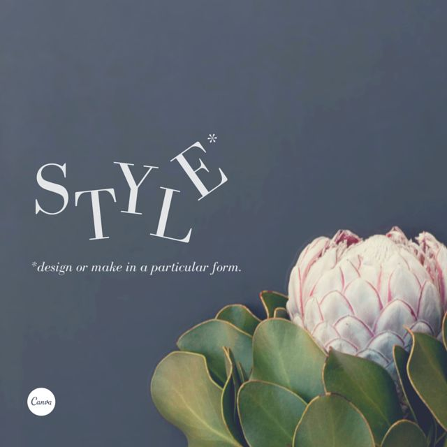 11. Set your designs apart from the rest. Create a style by using rotated letters for nuance