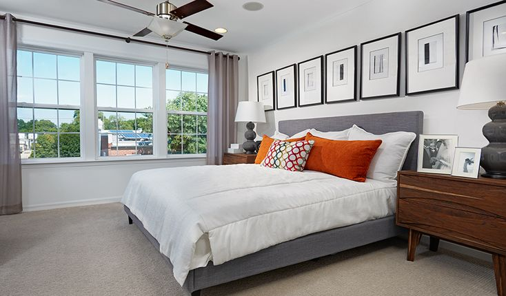 There's a lot to love about this light-filled master suite in Baltimore, MD | Kingsley plan by Richmond American