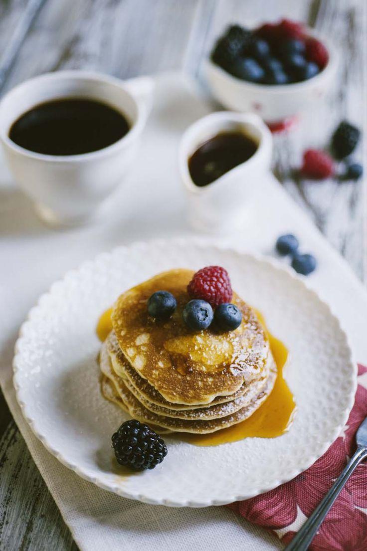 pancakes senza glutine e senza latticini
