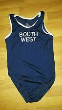 boys mens leotard a star south West squad size 12 (32)