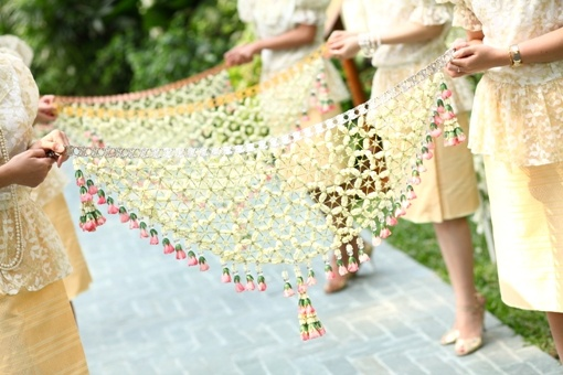 Thai bridesmaid