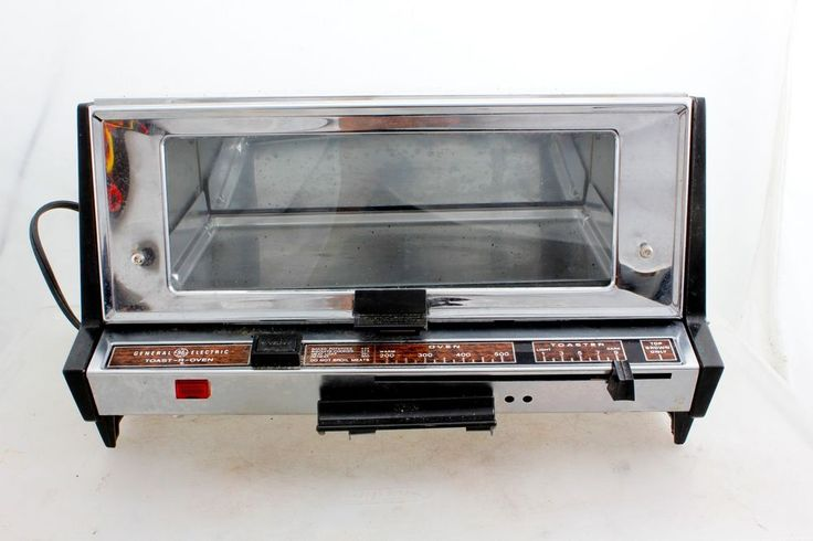 General Electric Toaster Oven A10 193B Vintage Mid-Century #GE