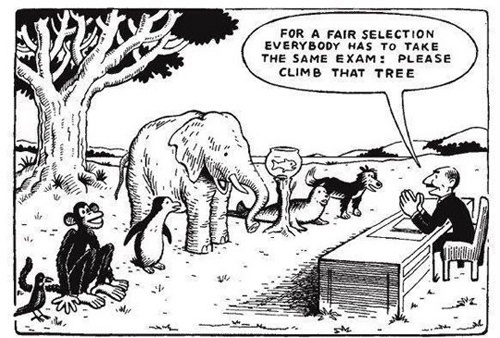 Fair selection