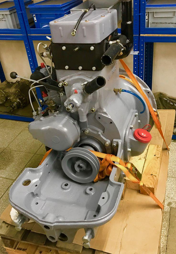 Zetor 25 engine