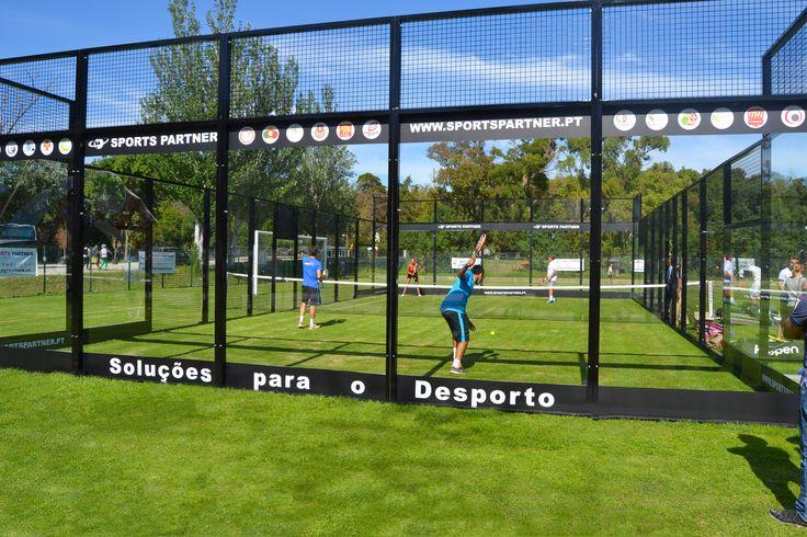 Festa dos 70 anos da Federação Portuguesa de Ténis no Jamor em Oeiras, com a Sports Partner a Jogar Padel