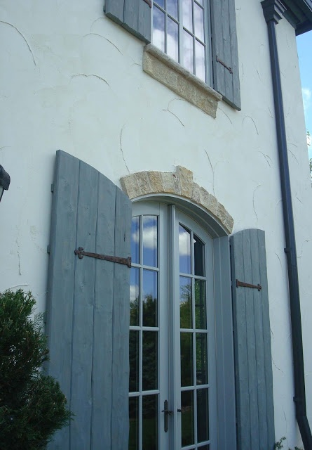 Shutters Eyebrows Coin Gutters Front Elevations