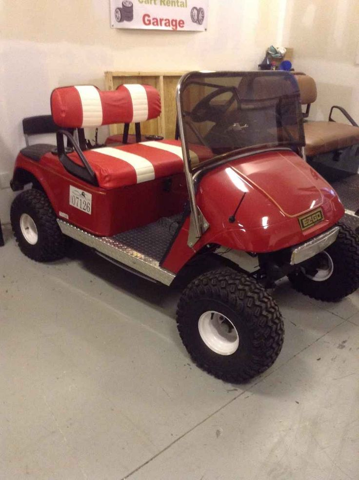 Top 25 Ideas About Lifted Golf Carts On Pinterest Golf