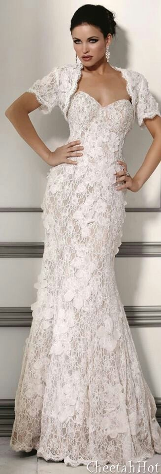 Bridal Gowns Over 40 : Now that s a sexy wedding dress weddings for women over