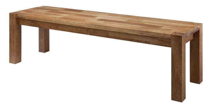 Biggi bænk - Bænk i olieret eg. Den flotte bænk passer til Biggi spisebordet, men kan med fordel også anvendes i eksempelvis entréen eller mellemgangen.