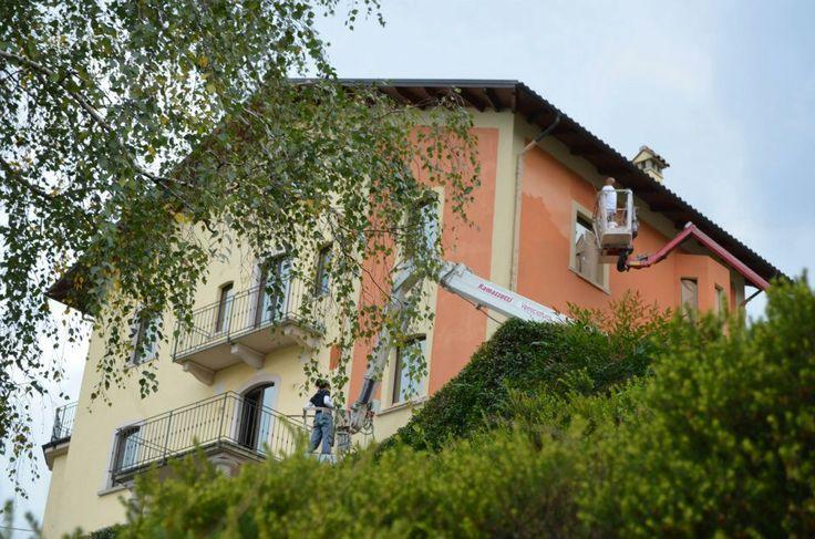 Lavori in corso a Villa Erica - Ottobre 2012 - HQ di #ALTEASpA - Feriolo di Baveno (VB)