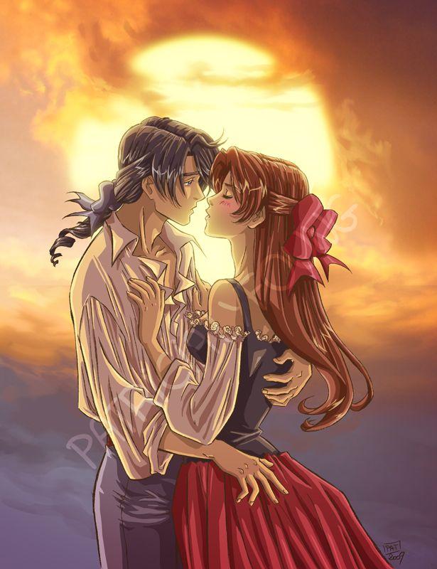 Sunset kiss by patriciaLyfoung.deviantart.com on @deviantART