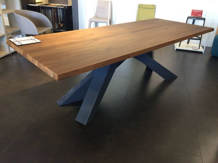 American Walnut with Anthracite steel base now – $6,245 Save 26%
