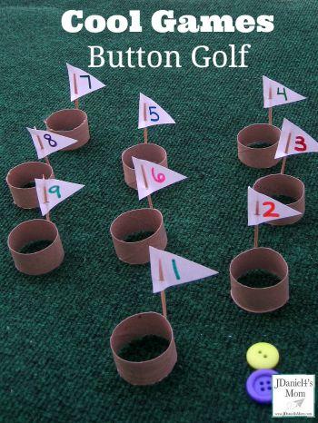 Kids Game Ideas -- Button Golf instructions @jdaniel4smom