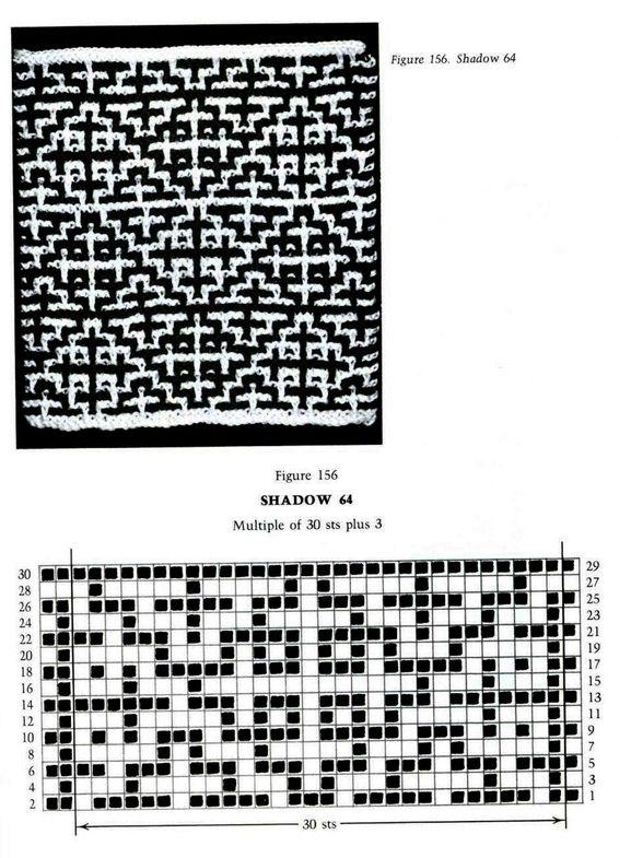 Mosaic Knitting Barbara G. Walker (Lenivii gakkard) Mosaic Knitting Barbara G. Walker (Lenivii gakkard) #194