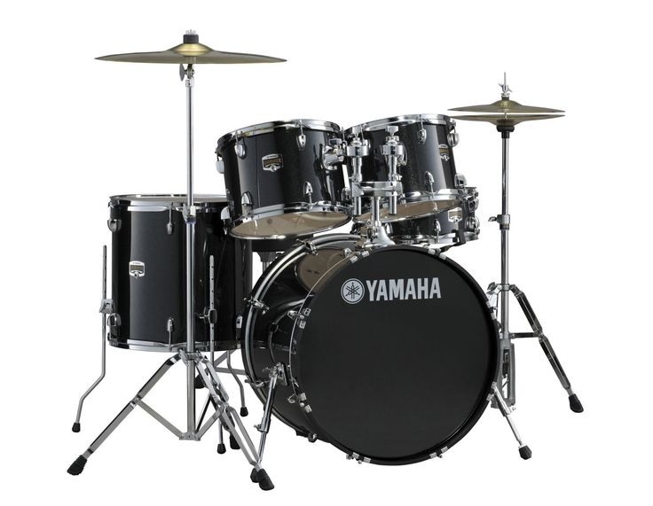 Buy Yamaha Gigmaker GM2F5 black drum set at MusicNexo Drums online store
