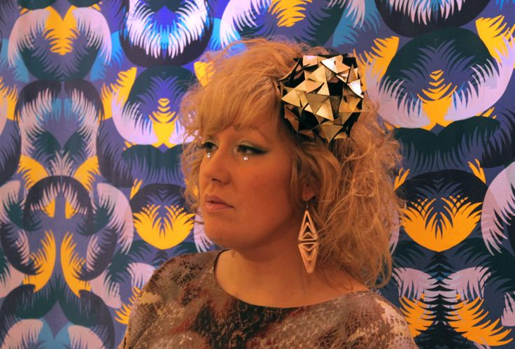 Origami Triangle www.theheadmistressboutique.com