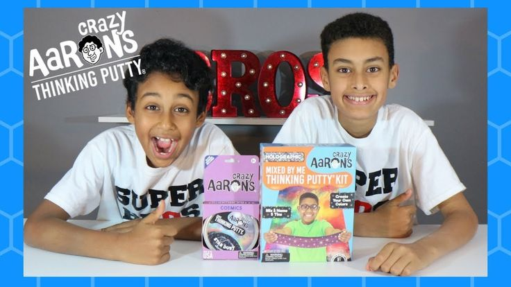 Holographic Crazy Aaron's Mixed By Me Thinking Putty Kit | Super Glowing...