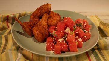 Watermelon Jalapeno Salad Recipe by Michael Symon - The Chew