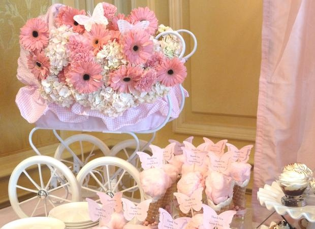 "Hostess with the Mostess® - ""Pink in the Springtime"" Baby Shower"